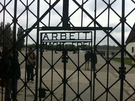 Lines Written After a Visit to Dachau