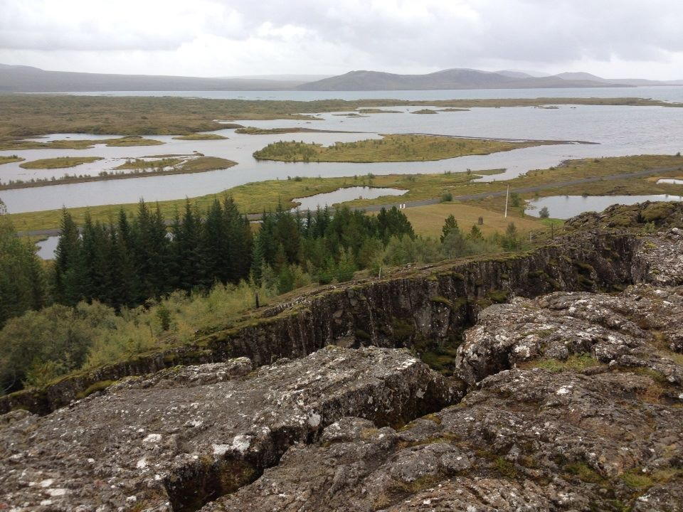 Meeting of the tectonic plates
