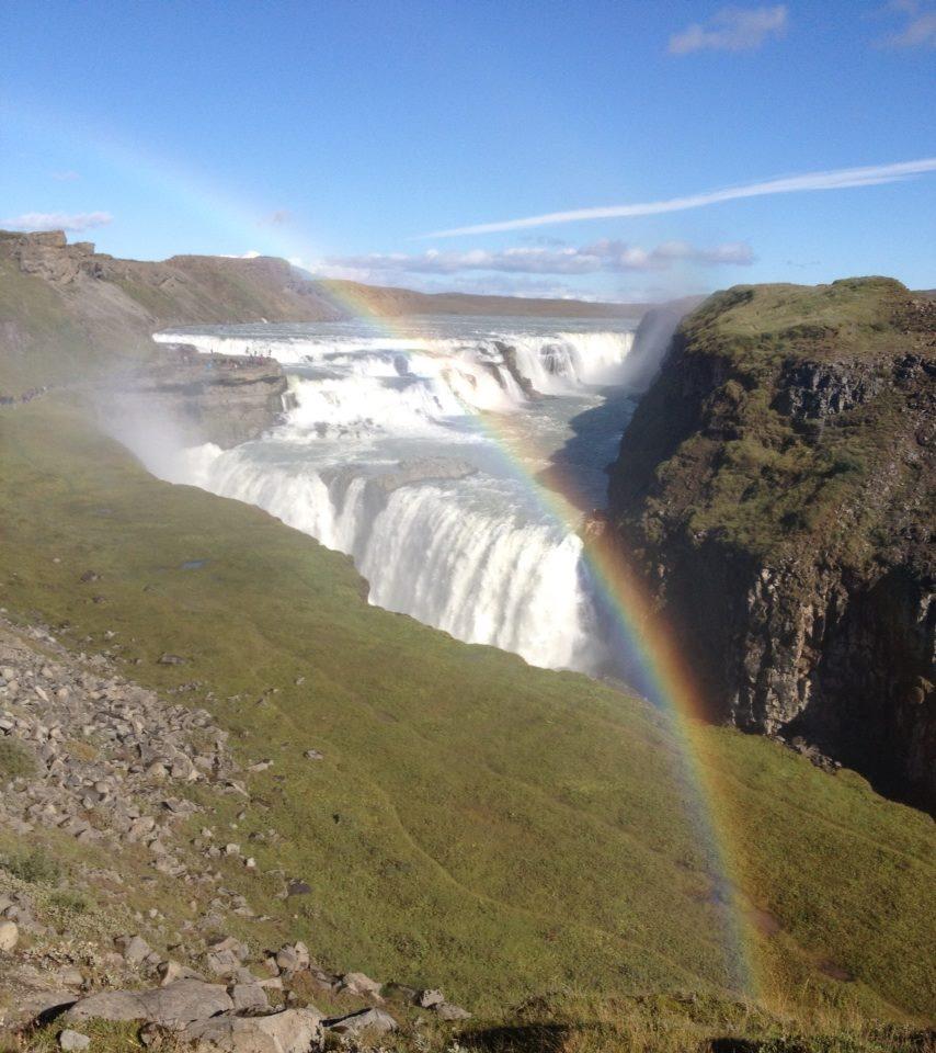 Waterfall & rainbow 2