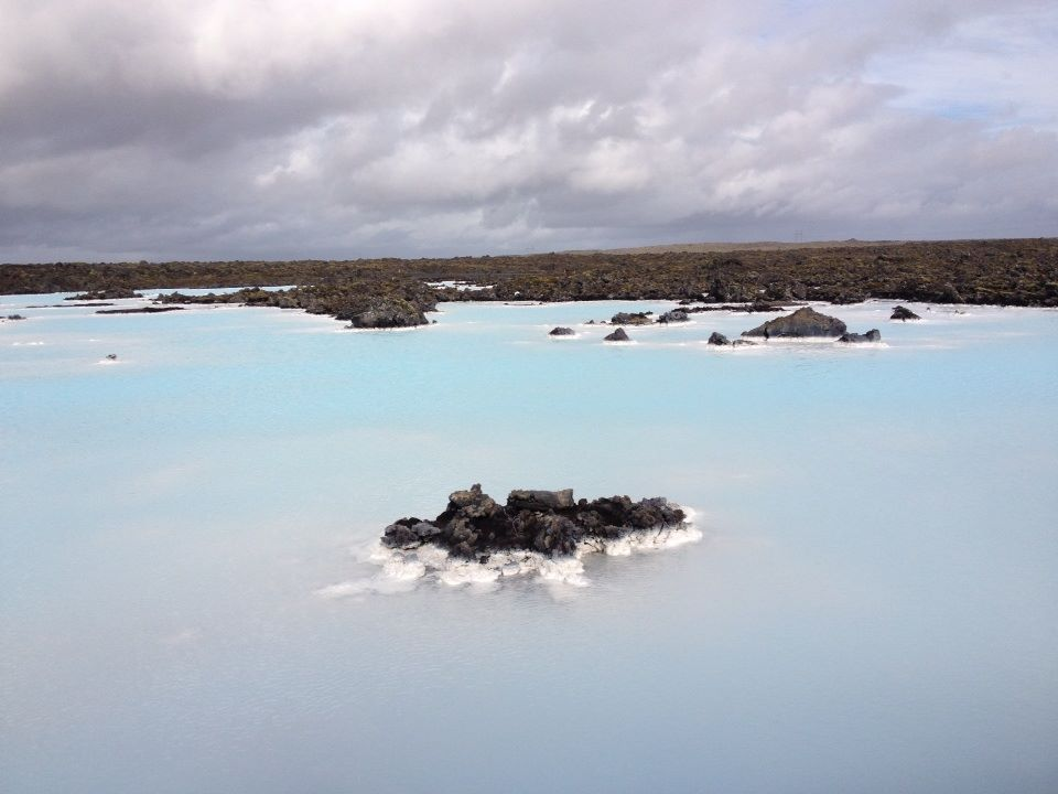Preternaturally blue Blue Lagoon