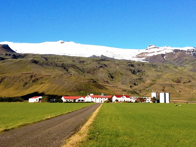 Eyjafjallajökull - erupted in 2010, disrupted air traffic