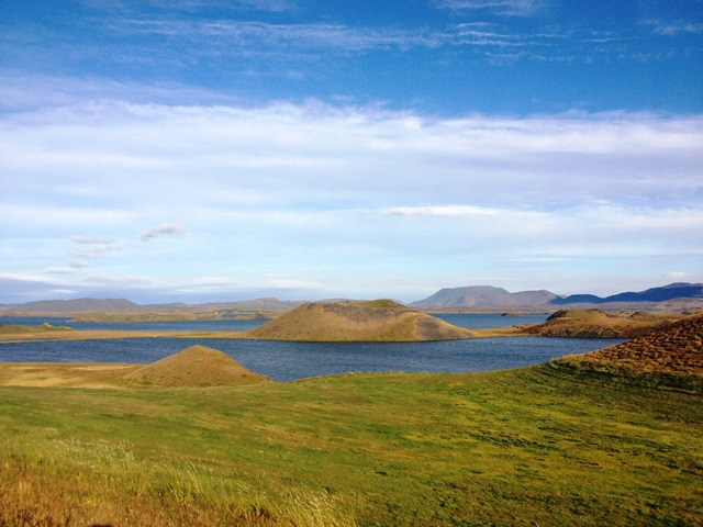 Lake Myvatn pseudocraters
