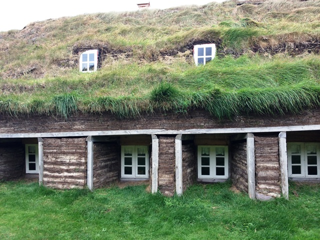 Old turf house