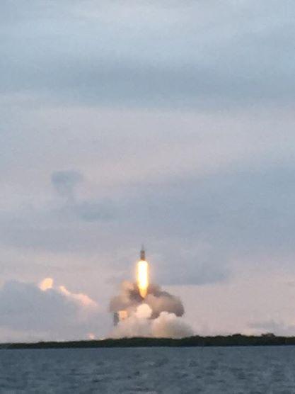 Orion rocket launch, Cape Canaveral