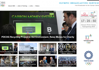 Olympic broadcasting communications